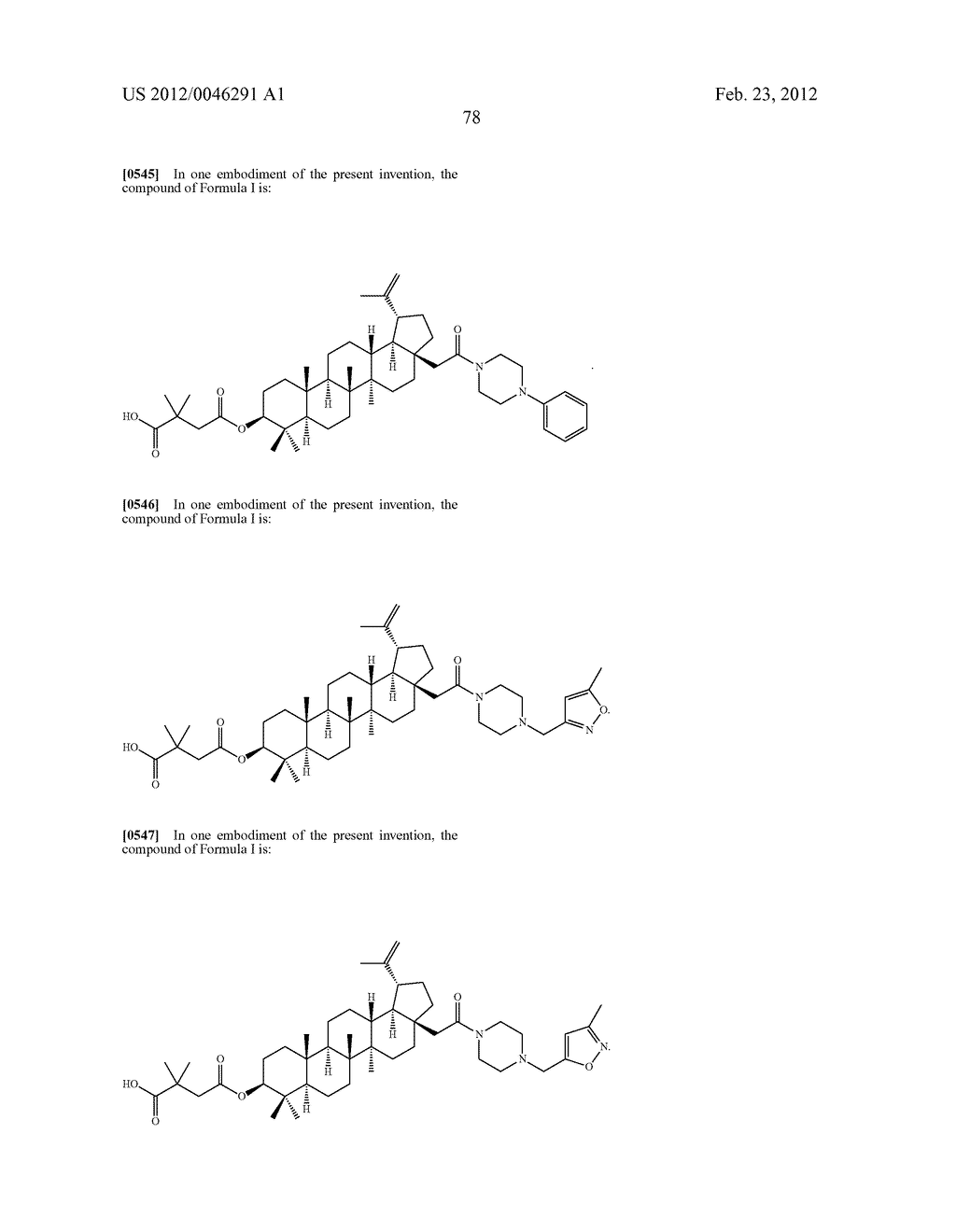 Extended Triterpene Derivatives - diagram, schematic, and image 80