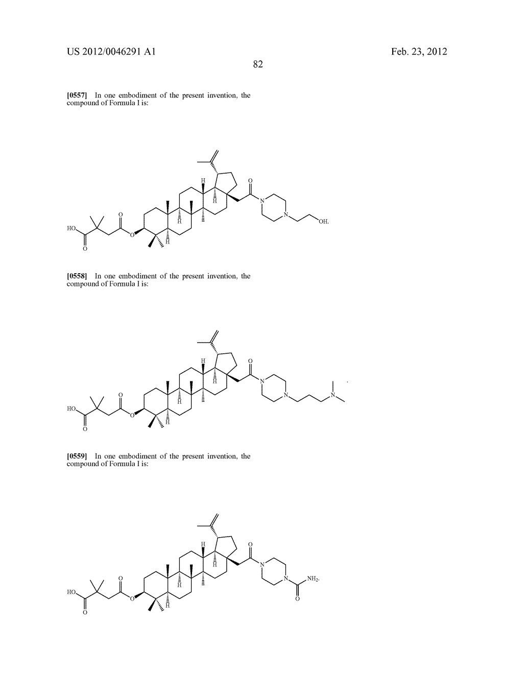 Extended Triterpene Derivatives - diagram, schematic, and image 84