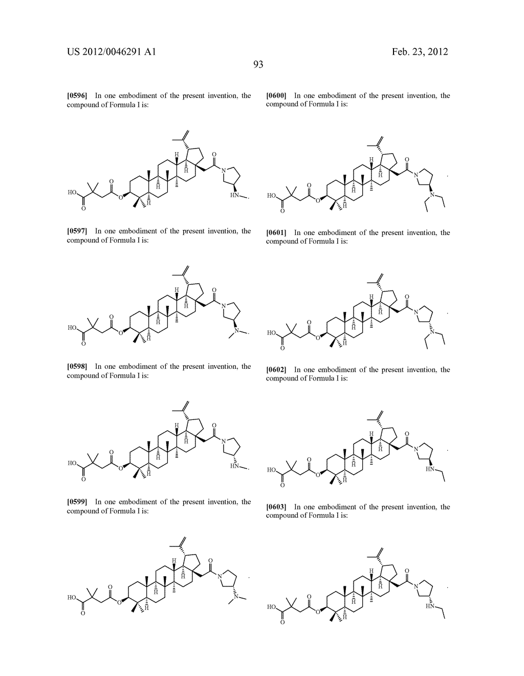 Extended Triterpene Derivatives - diagram, schematic, and image 93