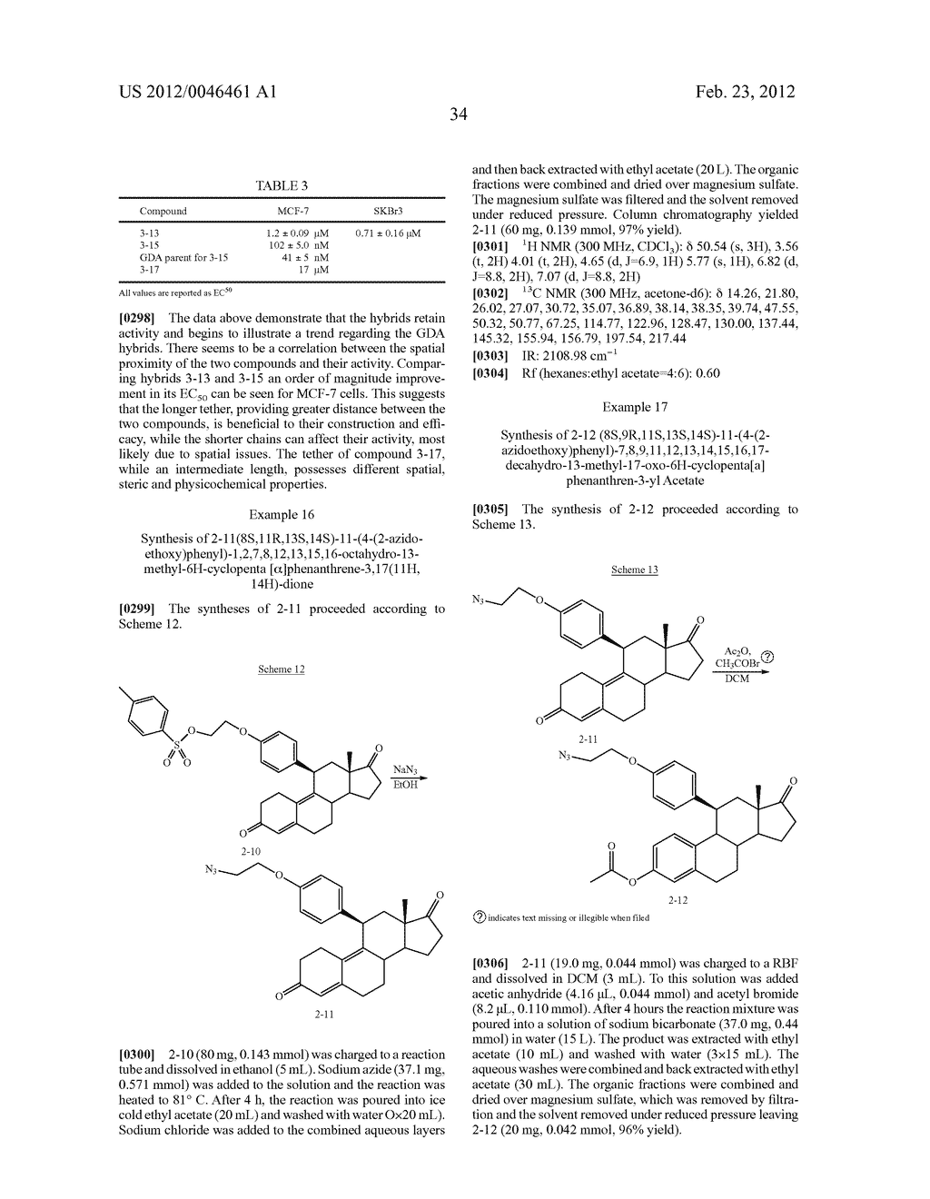 STEROIDAL ANTI-HORMONE HYBRIDS - diagram, schematic, and image 43