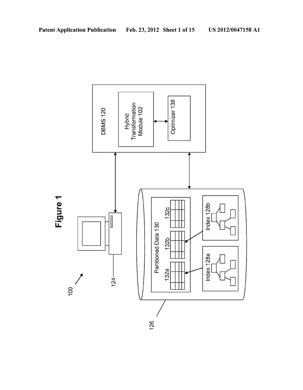METHOD AND SYSTEM FOR PERFORMING QUERY OPTIMIZATION USING A HYBRID     EXECUTION PLAN - diagram, schematic, and image 02