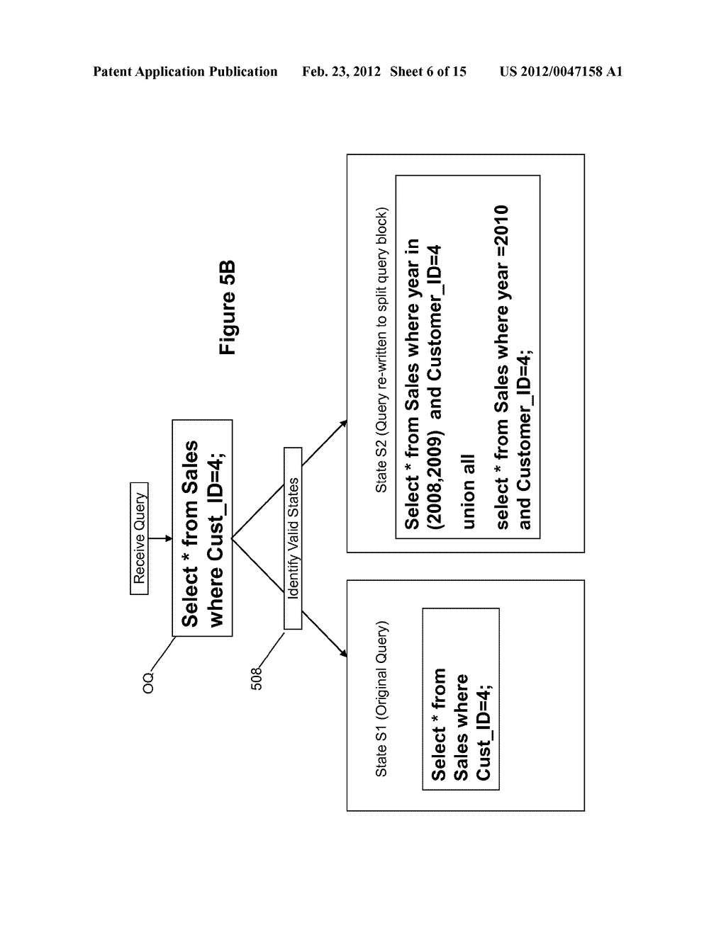 METHOD AND SYSTEM FOR PERFORMING QUERY OPTIMIZATION USING A HYBRID     EXECUTION PLAN - diagram, schematic, and image 07