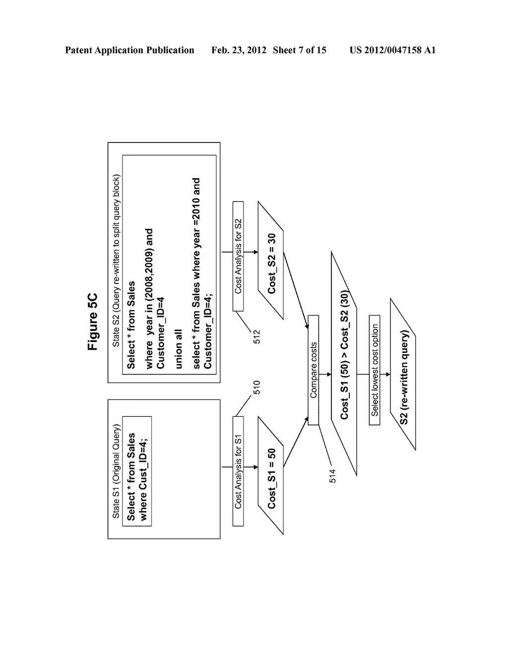 METHOD AND SYSTEM FOR PERFORMING QUERY OPTIMIZATION USING A HYBRID     EXECUTION PLAN - diagram, schematic, and image 08