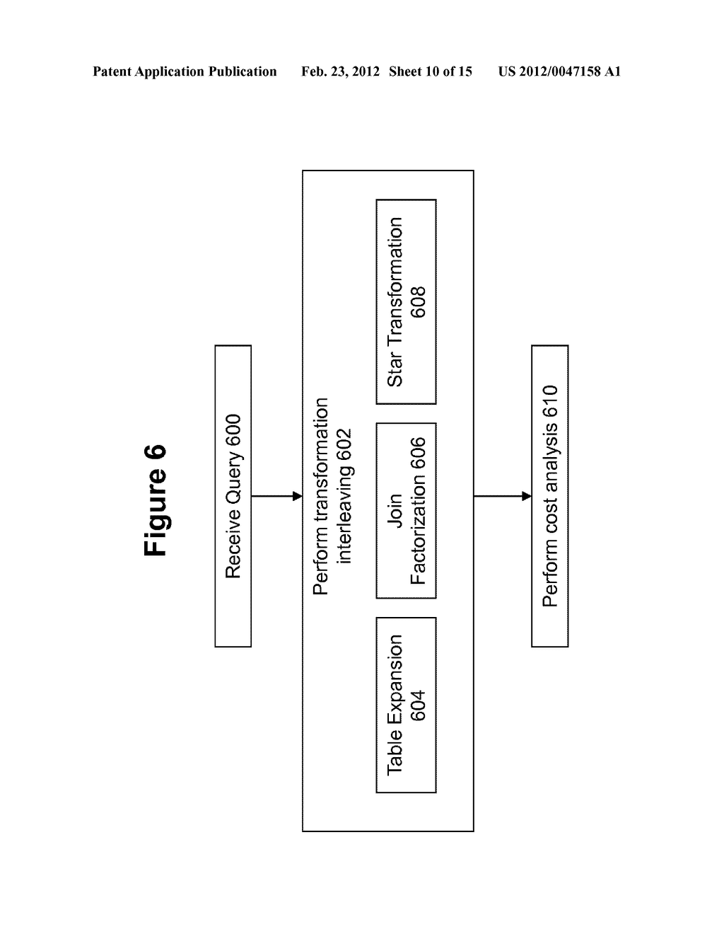 METHOD AND SYSTEM FOR PERFORMING QUERY OPTIMIZATION USING A HYBRID     EXECUTION PLAN - diagram, schematic, and image 11