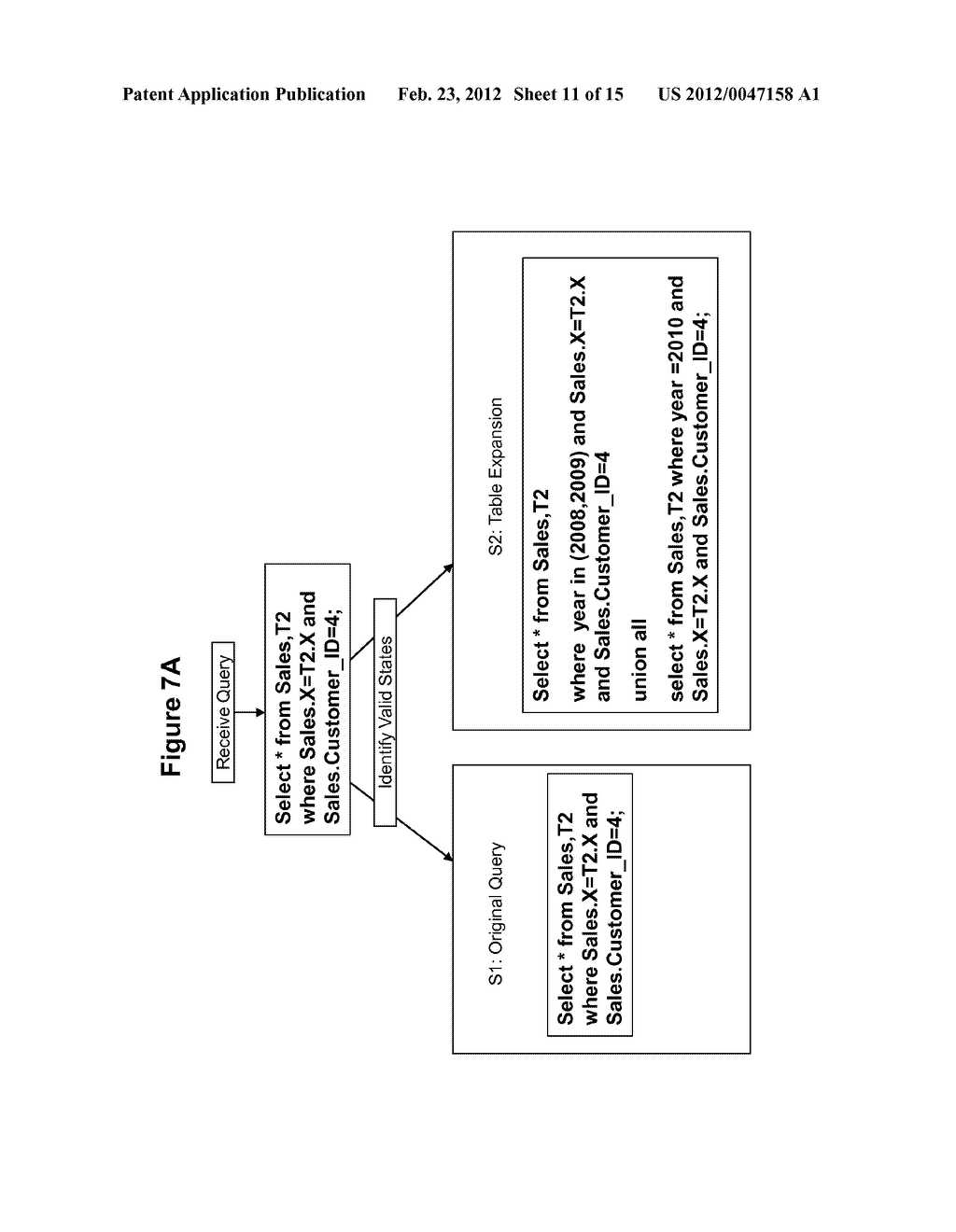METHOD AND SYSTEM FOR PERFORMING QUERY OPTIMIZATION USING A HYBRID     EXECUTION PLAN - diagram, schematic, and image 12