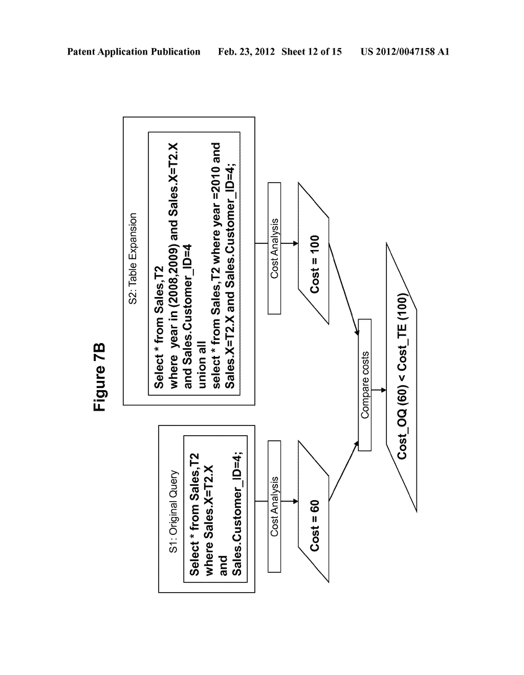 METHOD AND SYSTEM FOR PERFORMING QUERY OPTIMIZATION USING A HYBRID     EXECUTION PLAN - diagram, schematic, and image 13