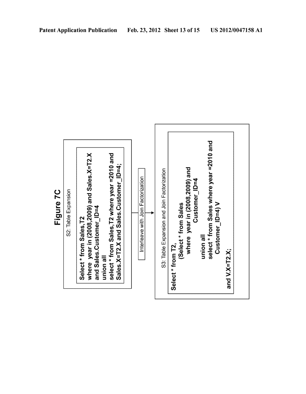 METHOD AND SYSTEM FOR PERFORMING QUERY OPTIMIZATION USING A HYBRID     EXECUTION PLAN - diagram, schematic, and image 14