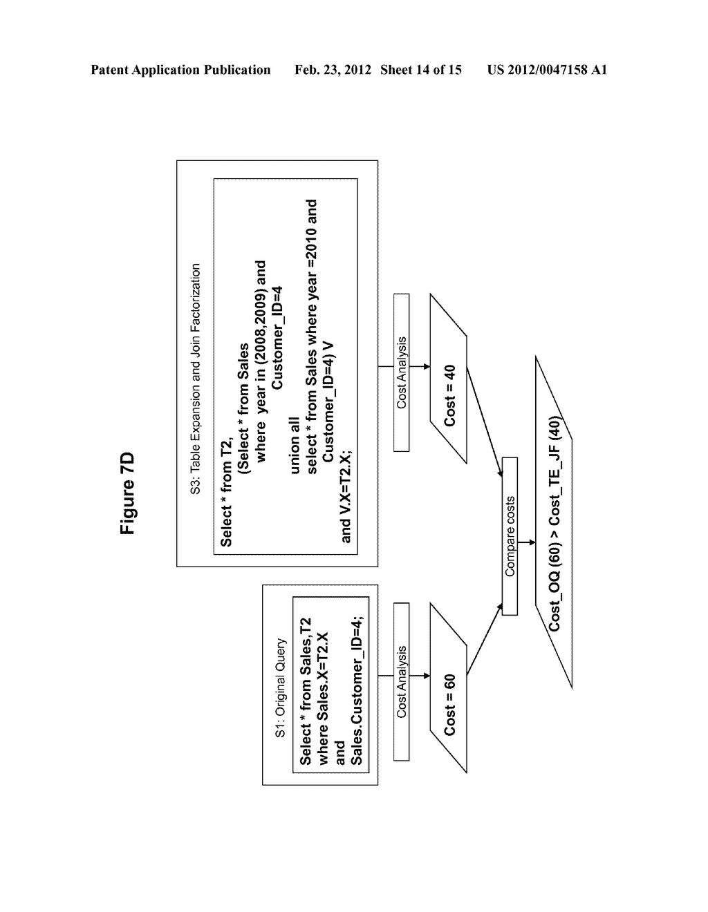 METHOD AND SYSTEM FOR PERFORMING QUERY OPTIMIZATION USING A HYBRID     EXECUTION PLAN - diagram, schematic, and image 15