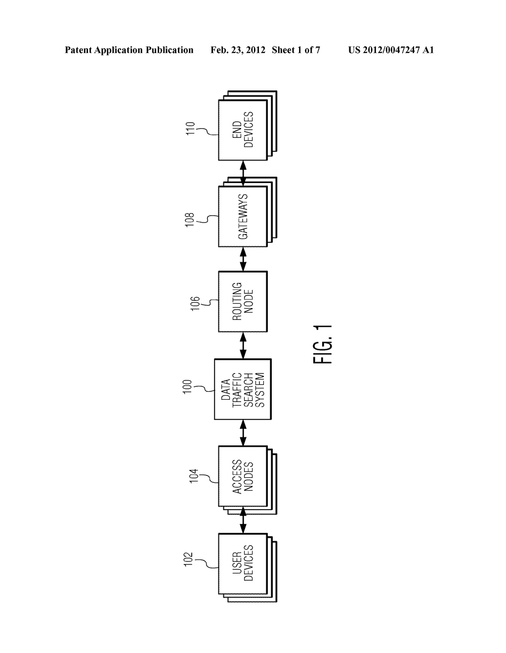 SYSTEM AND METHOD FOR ALLOWING DATA TRAFFIC SEARCH - diagram, schematic, and image 02