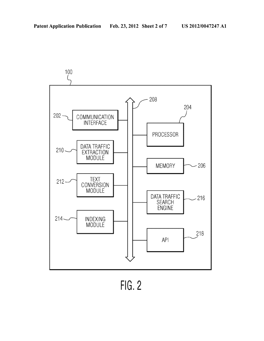 SYSTEM AND METHOD FOR ALLOWING DATA TRAFFIC SEARCH - diagram, schematic, and image 03