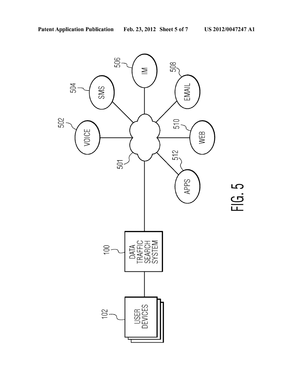 SYSTEM AND METHOD FOR ALLOWING DATA TRAFFIC SEARCH - diagram, schematic, and image 06