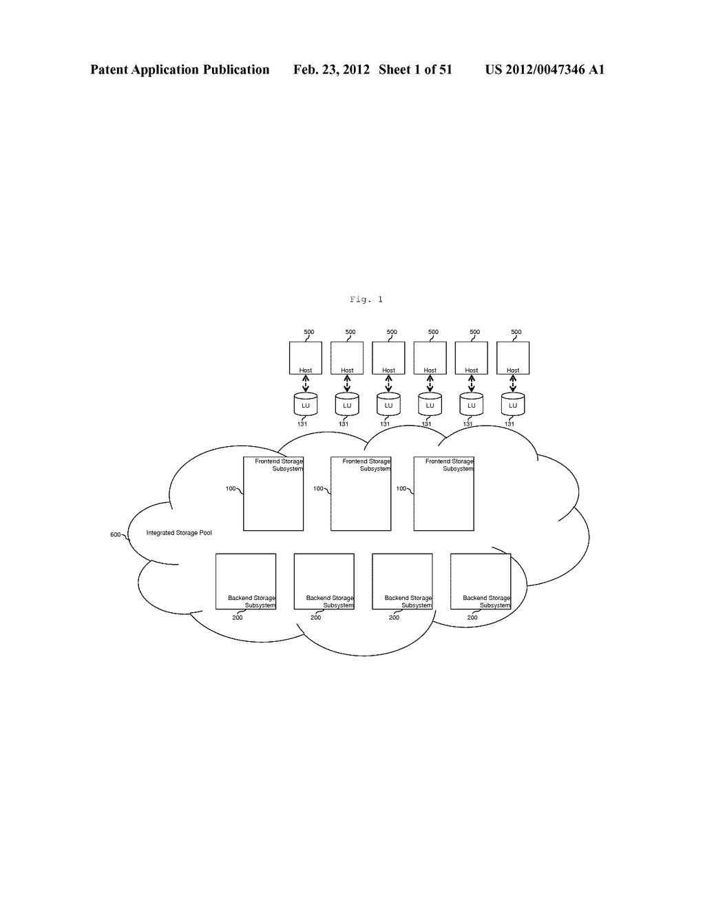 TIERED STORAGE POOL MANAGEMENT AND CONTROL FOR LOOSELY COUPLED MULTIPLE     STORAGE ENVIRONMENT - diagram, schematic, and image 02