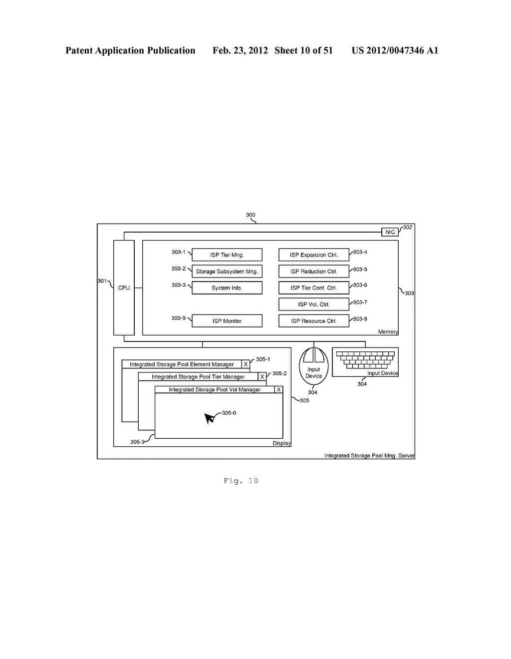 TIERED STORAGE POOL MANAGEMENT AND CONTROL FOR LOOSELY COUPLED MULTIPLE     STORAGE ENVIRONMENT - diagram, schematic, and image 11