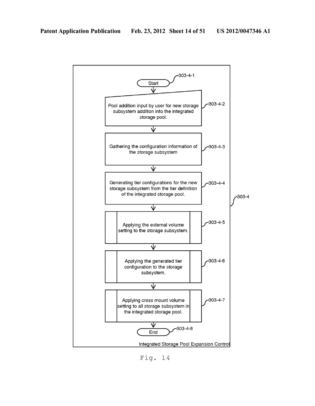 TIERED STORAGE POOL MANAGEMENT AND CONTROL FOR LOOSELY COUPLED MULTIPLE     STORAGE ENVIRONMENT - diagram, schematic, and image 15
