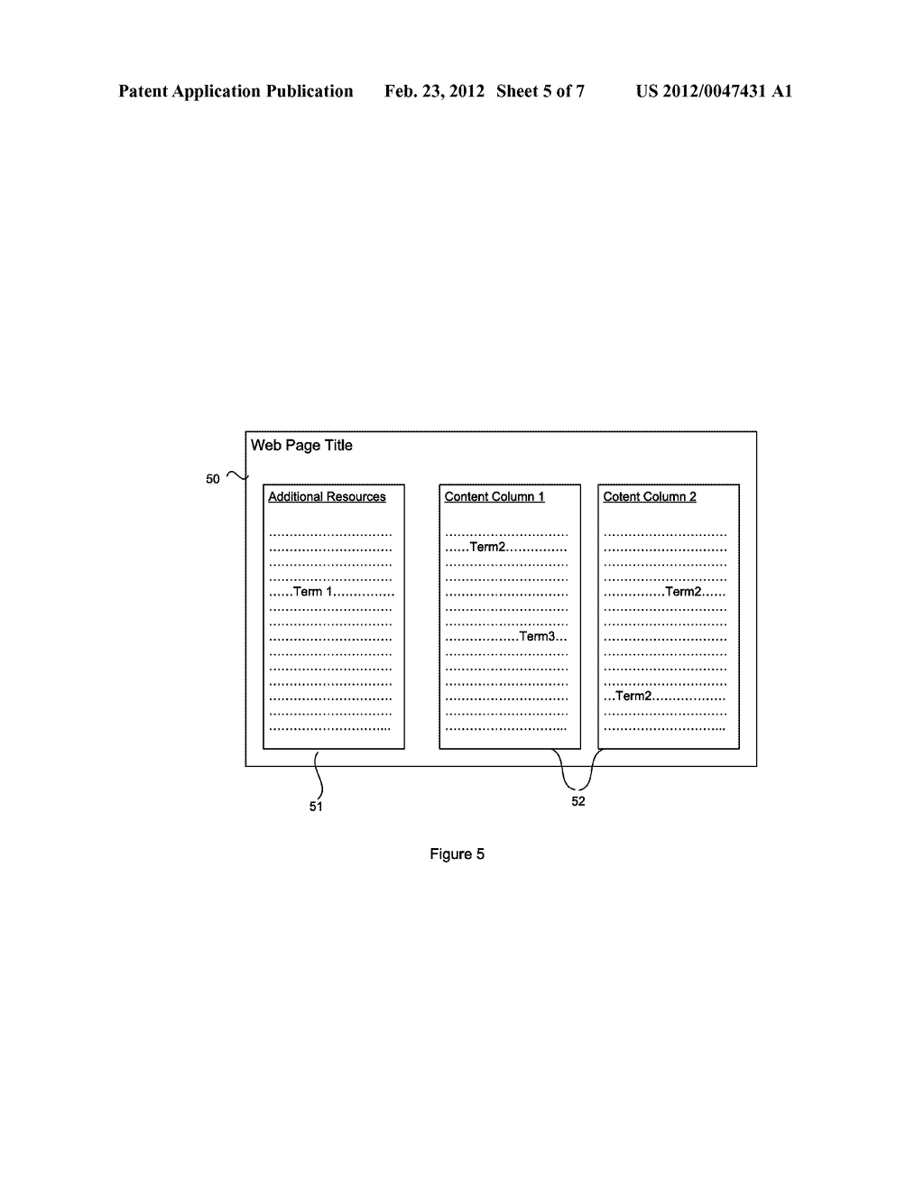 SYSTEM AND METHOD FOR CONTENT SELECTION FOR WEB PAGE INDEXING - diagram, schematic, and image 06