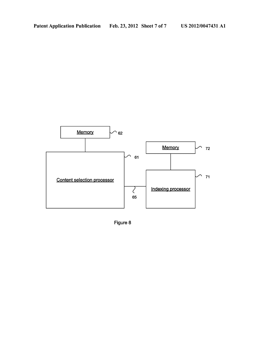 SYSTEM AND METHOD FOR CONTENT SELECTION FOR WEB PAGE INDEXING - diagram, schematic, and image 08