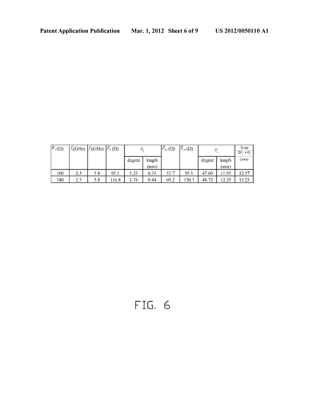 MICROSTRIP FOR WIRELESS COMMUNICATION AND METHOD FOR DESIGNING THE SAME - diagram, schematic, and image 07