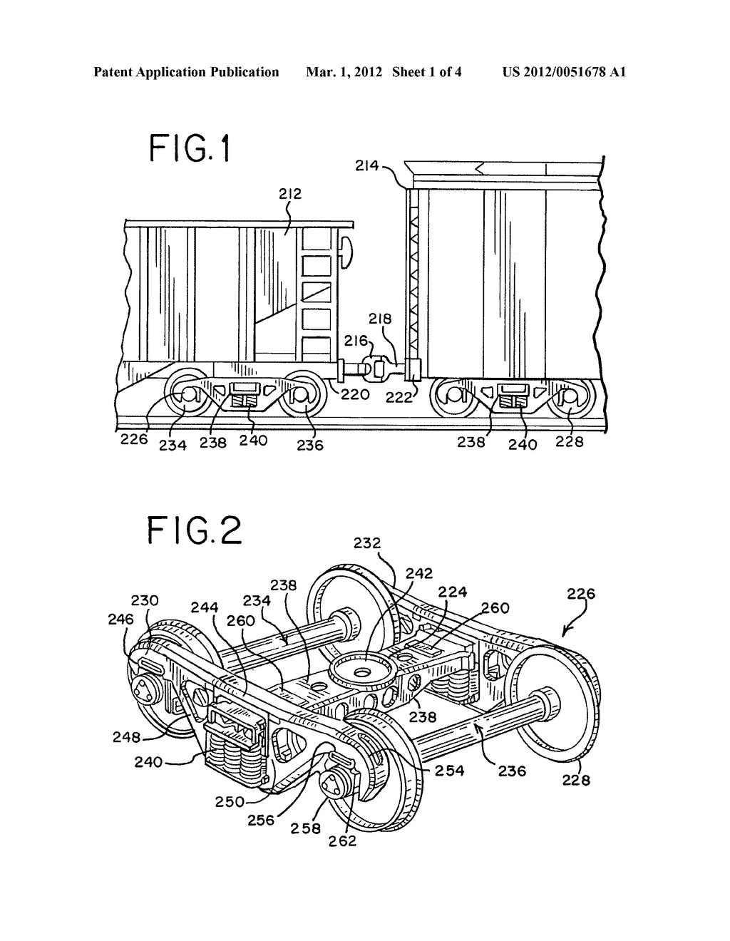 Railroad freight car sidebearing - diagram, schematic, and image 02