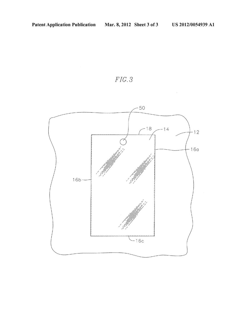 CLOTHING WITH CLEAR POCKET FOR HOLDING PORTABLE ELECTRONIC DEVICES - diagram, schematic, and image 04