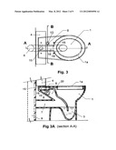 Self-ventilating toilet diagram and image