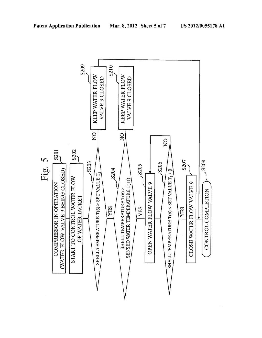 HEAT PUMP APPARATUS AND METHOD FOR CONTROLLING REGULATING VALVE - diagram, schematic, and image 06