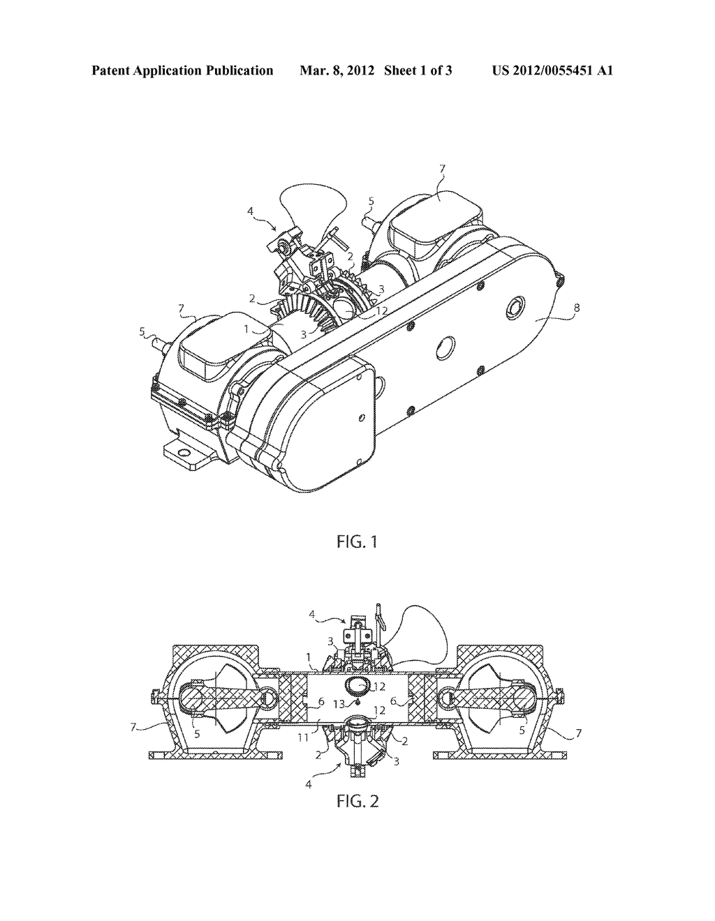 Inwardly Opposed Pistons Fixed Position Common Cylinder Engine With Diagram Schedule External Induction Schematic And Image 02