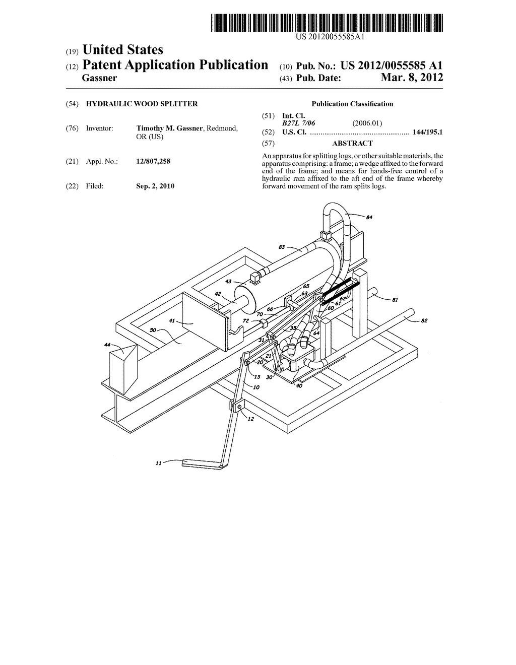 Log Splitter Hydraulic Circuit Diagram Browse Data Wiring Basic Schematics Youtube Wood Schematic And Image 01 Cylinder Parts