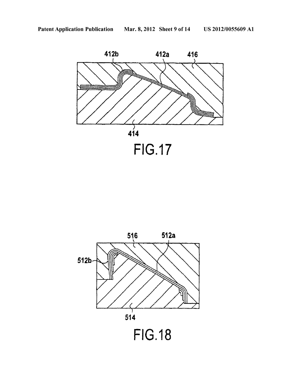 METHOD FOR PRODUCING A TURBOMACHINE BLADE MADE FROM A COMPOSITE MATERIAL - diagram, schematic, and image 10