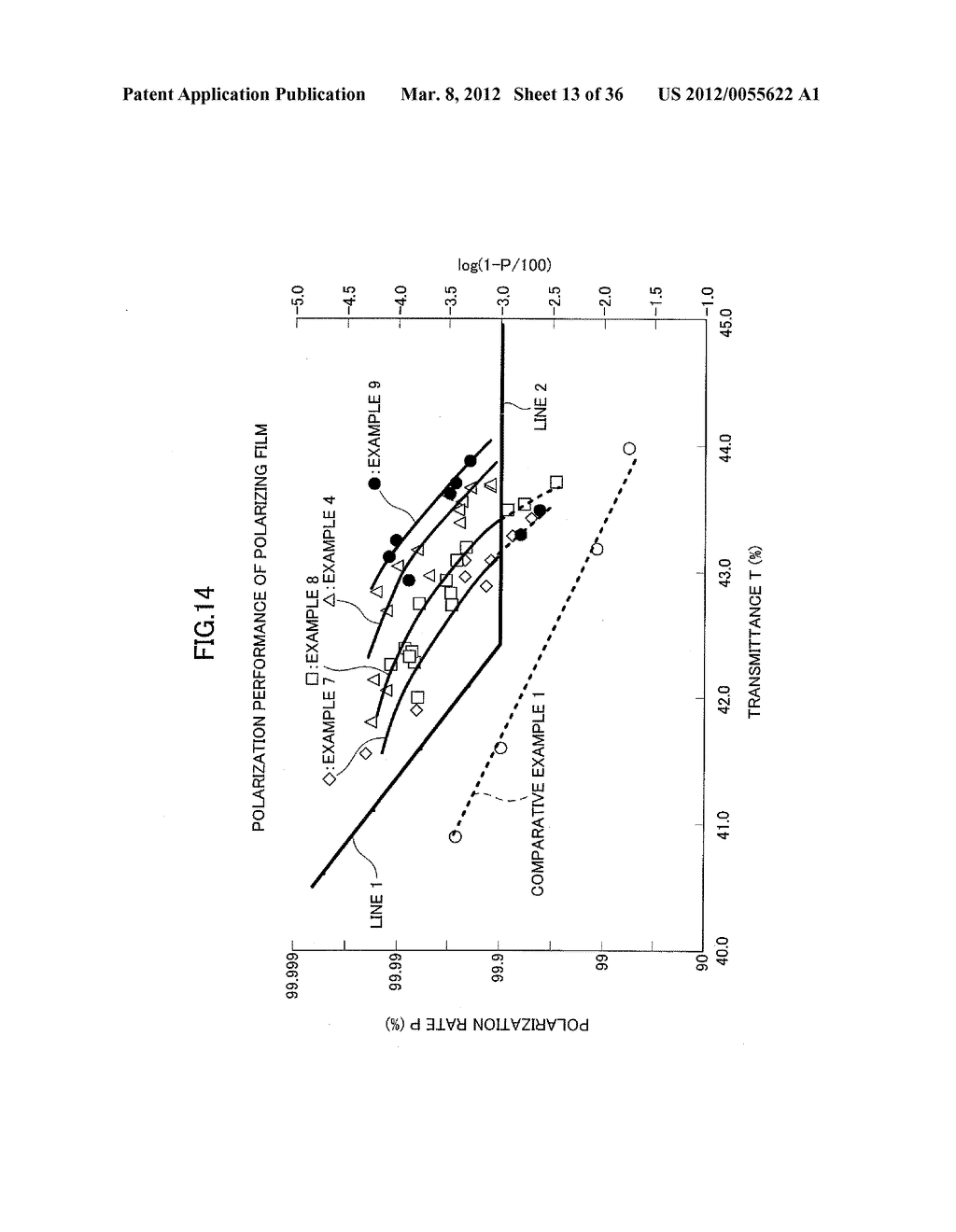 METHOD AND APPARATUS FOR SEQUENTIALLY LAMINATING OPTICAL FILM INCLUDING     POLARIZING FILM, TO RECTANGULAR-SHAPED PANEL - diagram, schematic, and image 14