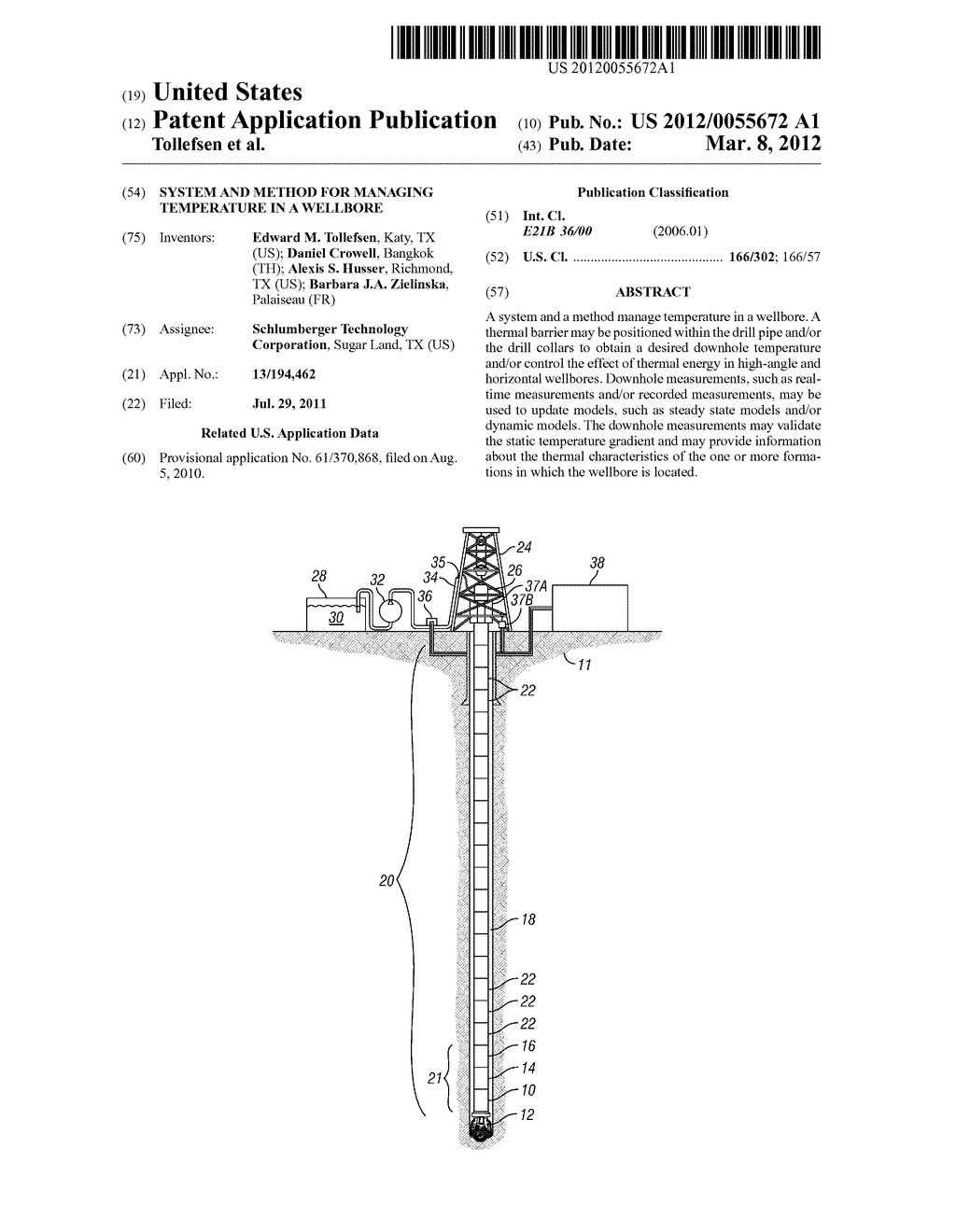 System and Method for Managing Temperature in a Wellbore - diagram, schematic, and image 01