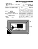 RFID Label With Shielding Element diagram and image