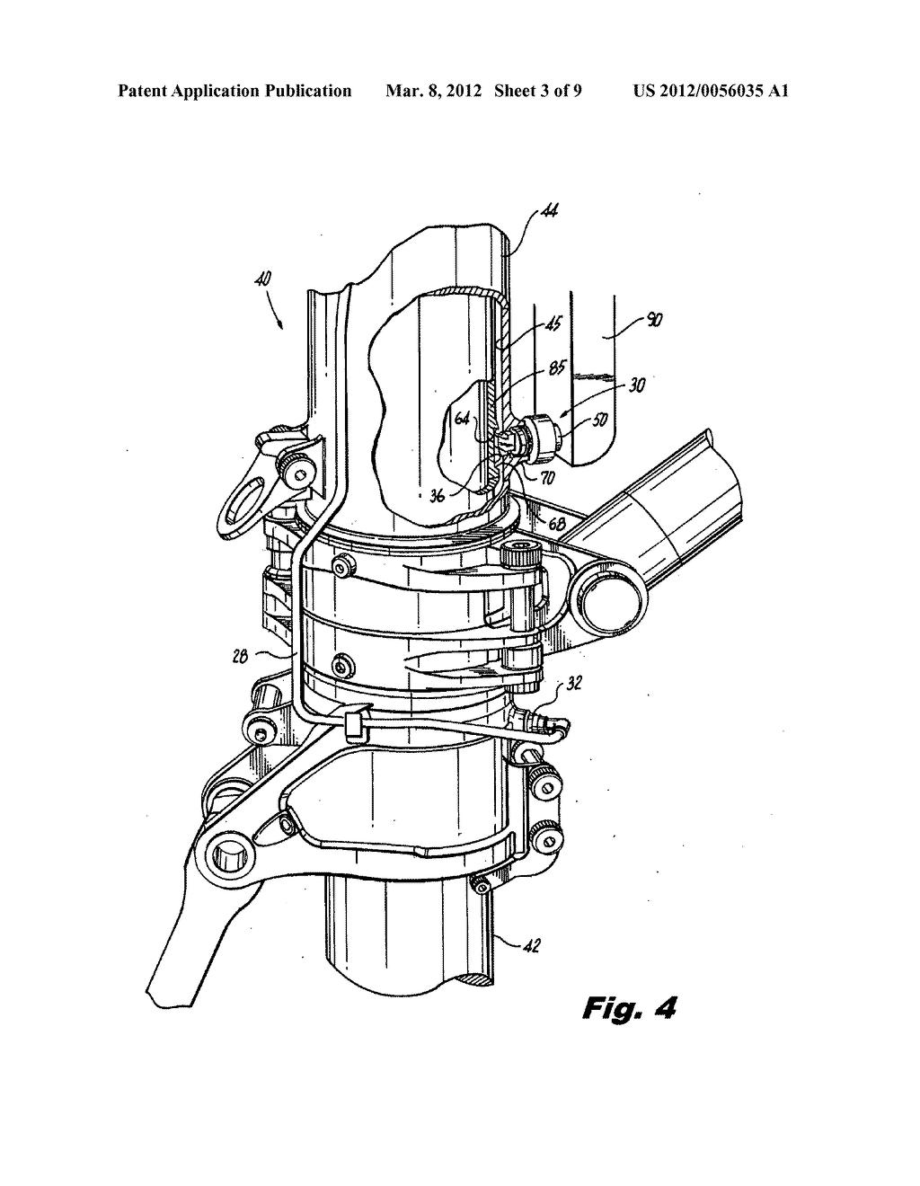Shrink shock strut locking mechanism for retractable aircraft ...