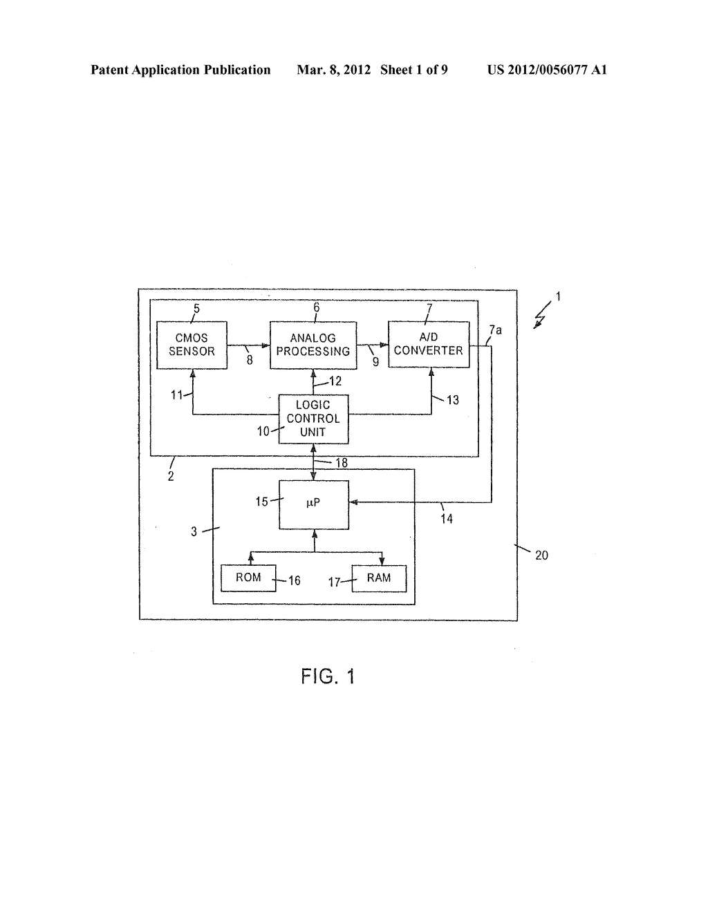 DEVICE AND METHOD FOR THE ACQUISITION AND AUTOMATIC PROCESSING OF DATA     OBTAINED FROM OPTICAL CODES - diagram, schematic, and image 02