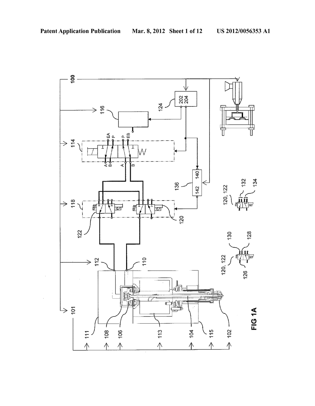INJECTION-MOLDING SYSTEM INCLUDING PRESSURE-EQUALIZATION CIRCUIT - diagram, schematic, and image 02