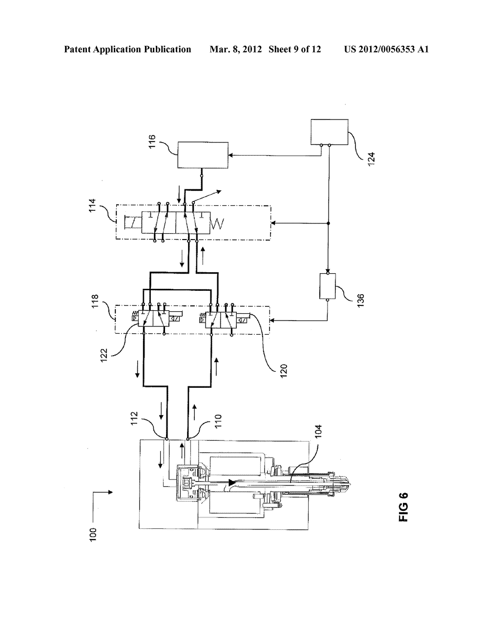 INJECTION-MOLDING SYSTEM INCLUDING PRESSURE-EQUALIZATION CIRCUIT - diagram, schematic, and image 10