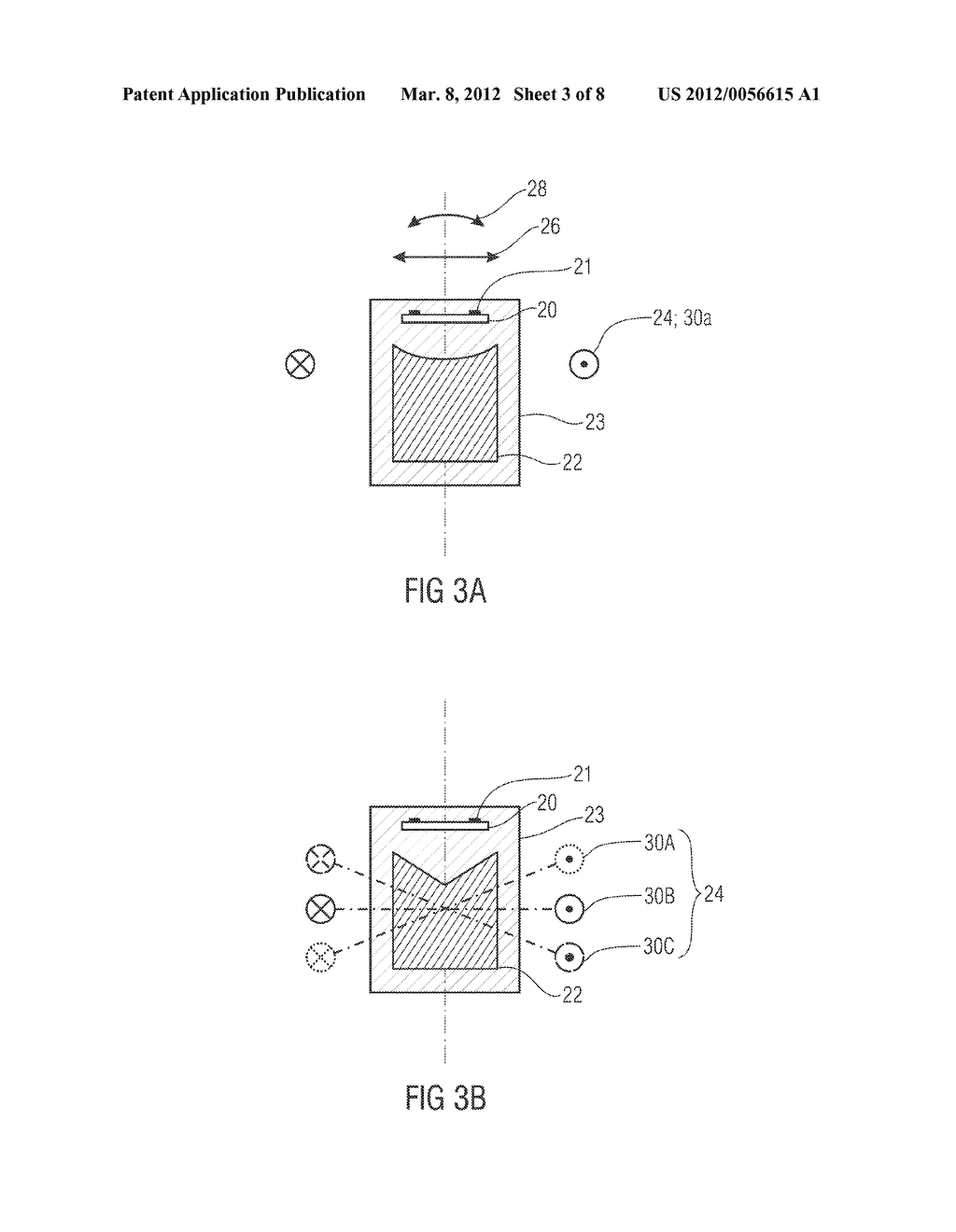 Method and Apparatus for Defined Magnetizing of Permanently Magnetizable     Elements and Magnetoresistive Sensor Structures - diagram, schematic, and image 04