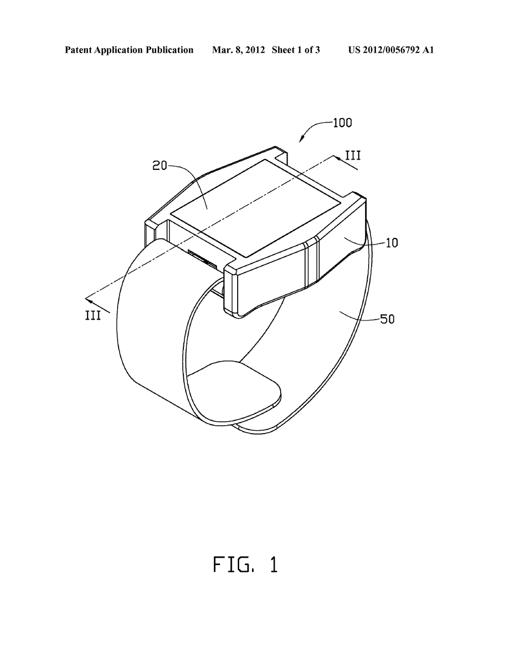 WEARABLE DEVICE WITH ANTENNA - diagram, schematic, and image 02