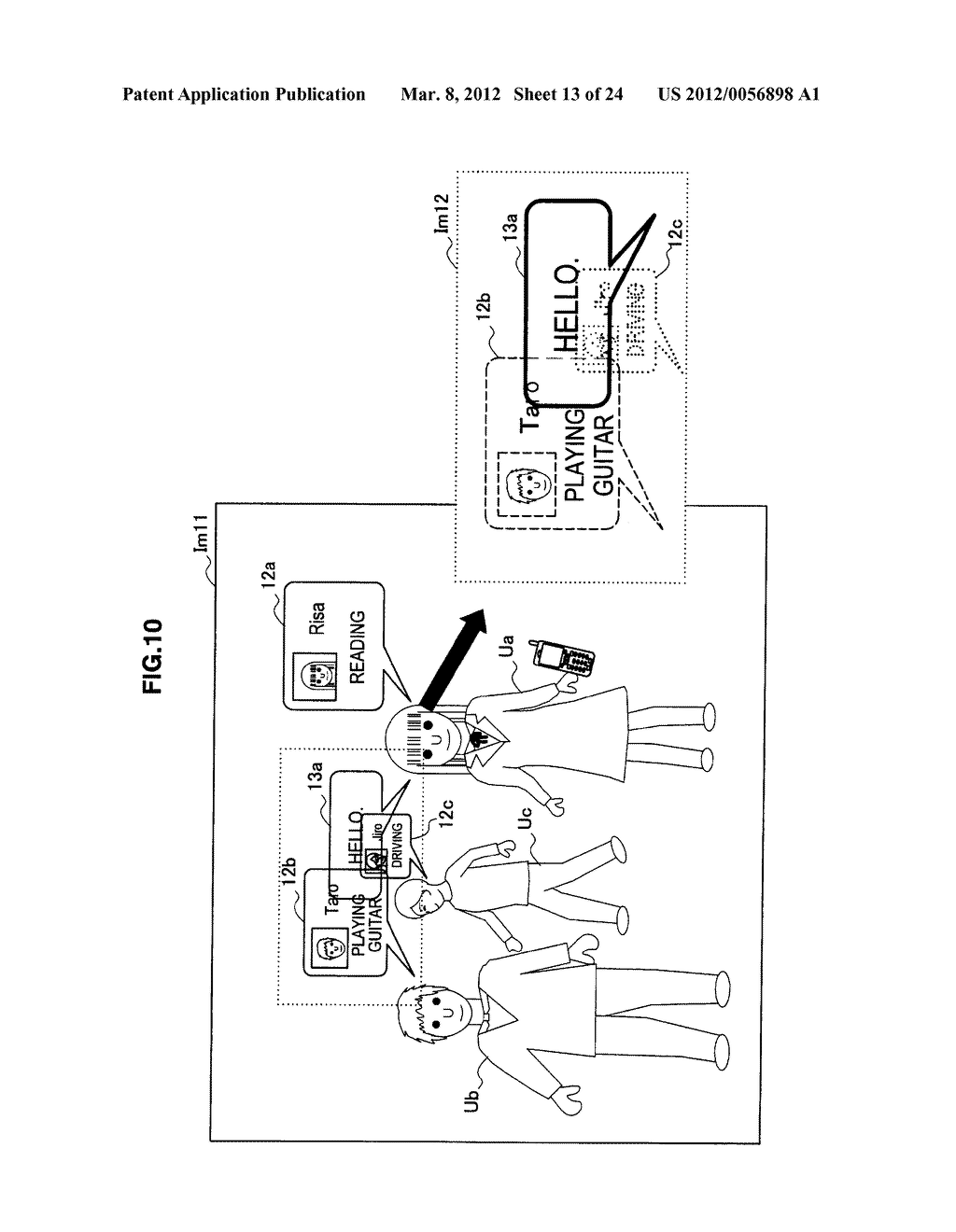 IMAGE PROCESSING DEVICE, PROGRAM, AND IMAGE PROCESSING METHOD - diagram, schematic, and image 14