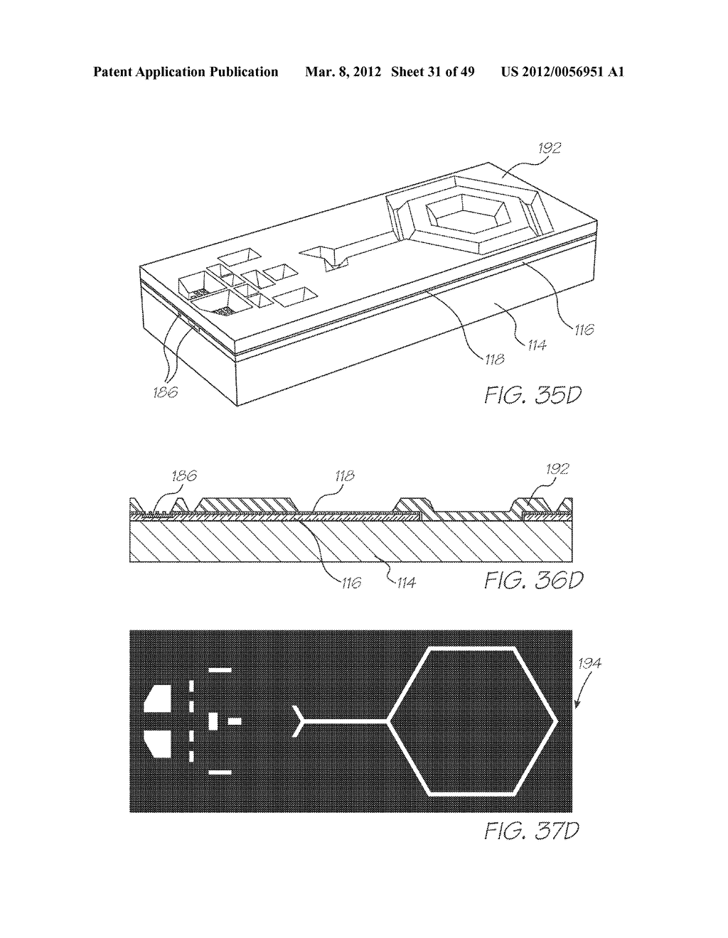 PRINTHEAD ASSEMBLY INCORPORATING INK DISTRIBUTION ASSEMBLY - diagram, schematic, and image 32