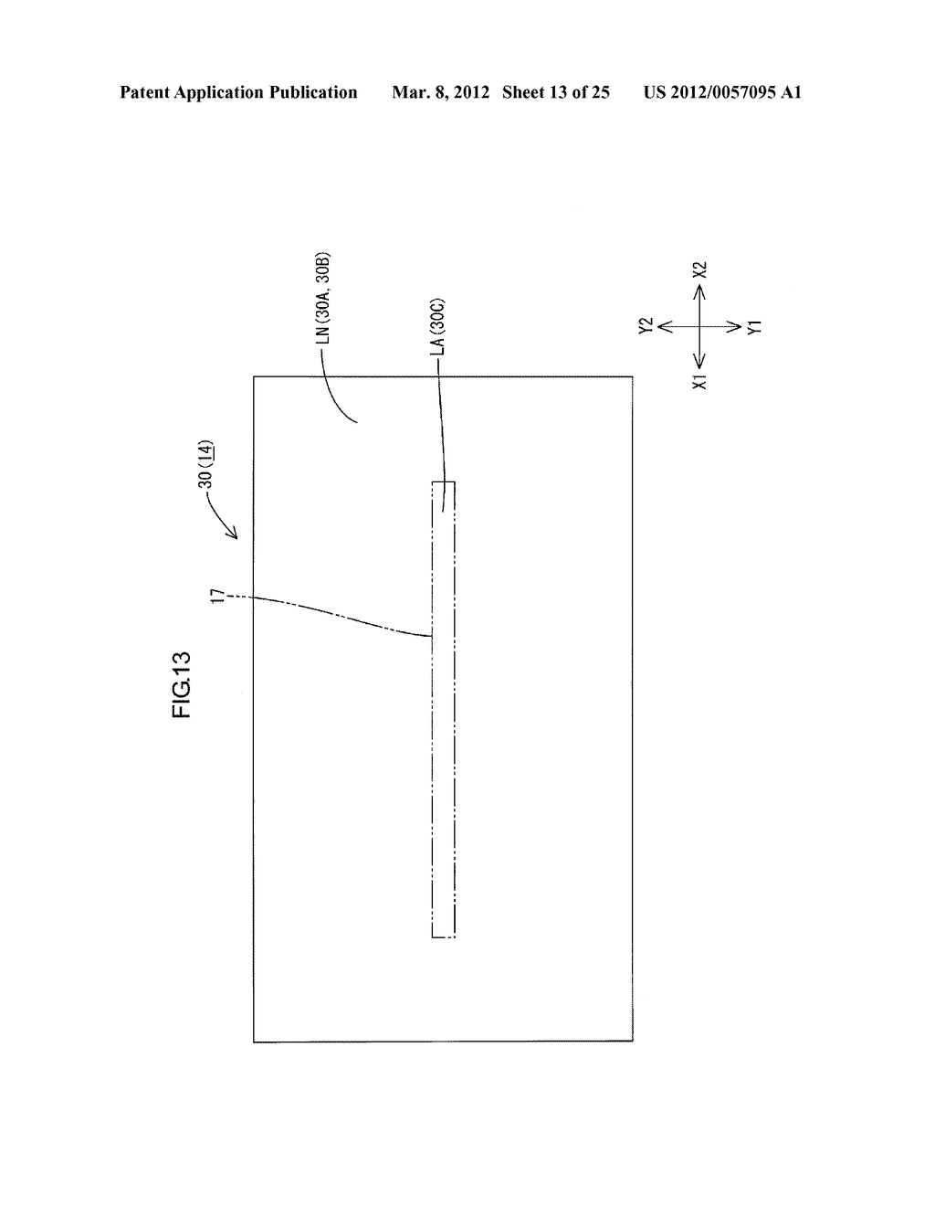 LIGHTING DEVICE, DISPLAY DEVICE AND TELEVISION RECEIVER - diagram, schematic, and image 14