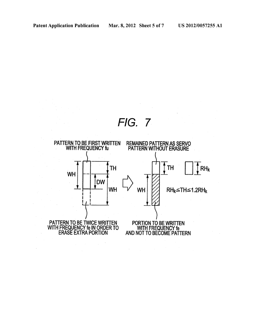 INSPECTION DEVICE OR INSPECTION METHOD FOR MAGNETIC HEAD OR MAGNETIC DISC,     AND MAGNETIC DISC RECORDING DEVICE AND MAGNETIC DISC RECORDING METHOD - diagram, schematic, and image 06