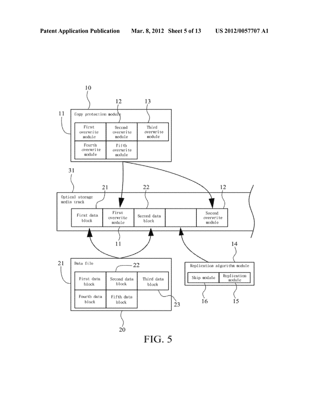 METHOD OF ABOLISHING UNAUTHORIZED COPYING OF DIGITAL DATA STORED ON AN     OPTICAL DISC - diagram, schematic, and image 06