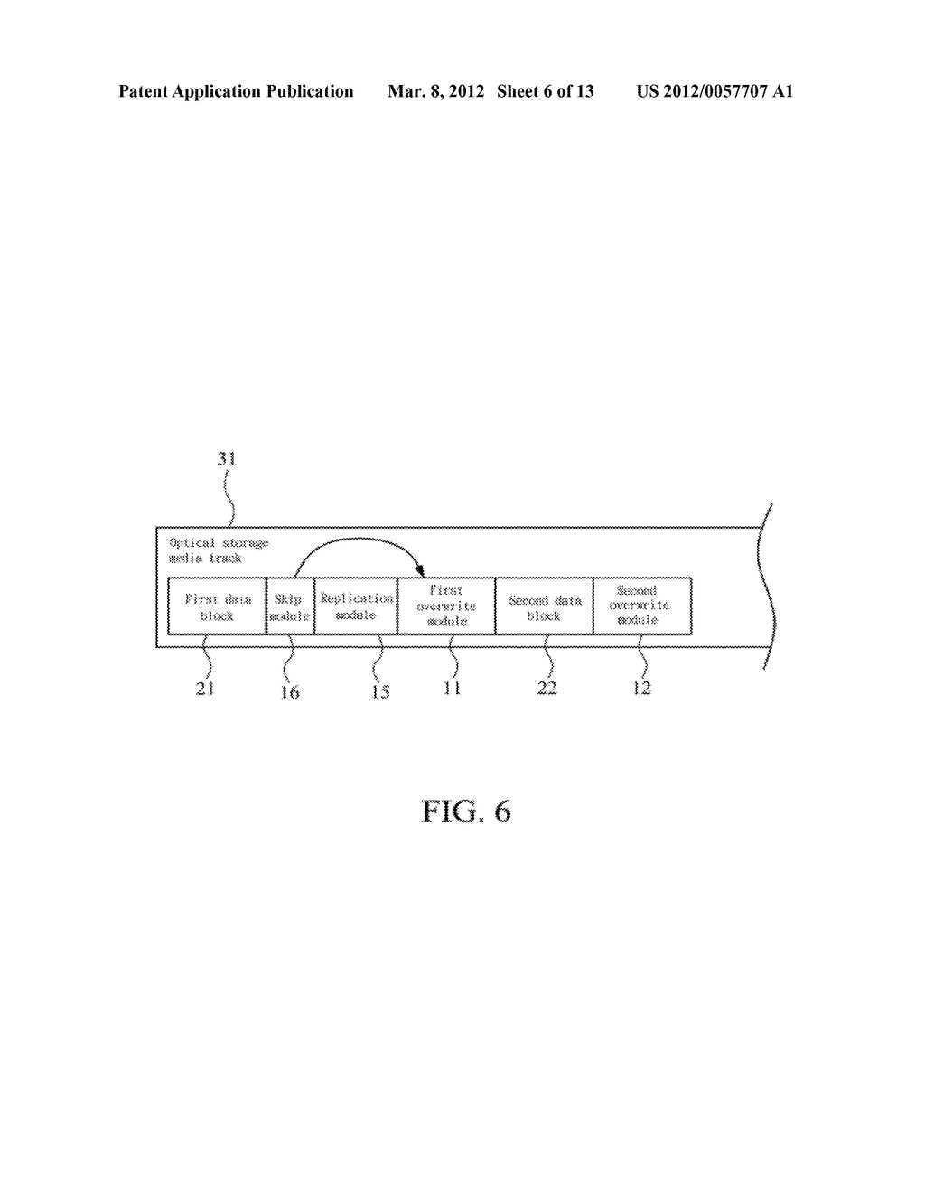 METHOD OF ABOLISHING UNAUTHORIZED COPYING OF DIGITAL DATA STORED ON AN     OPTICAL DISC - diagram, schematic, and image 07