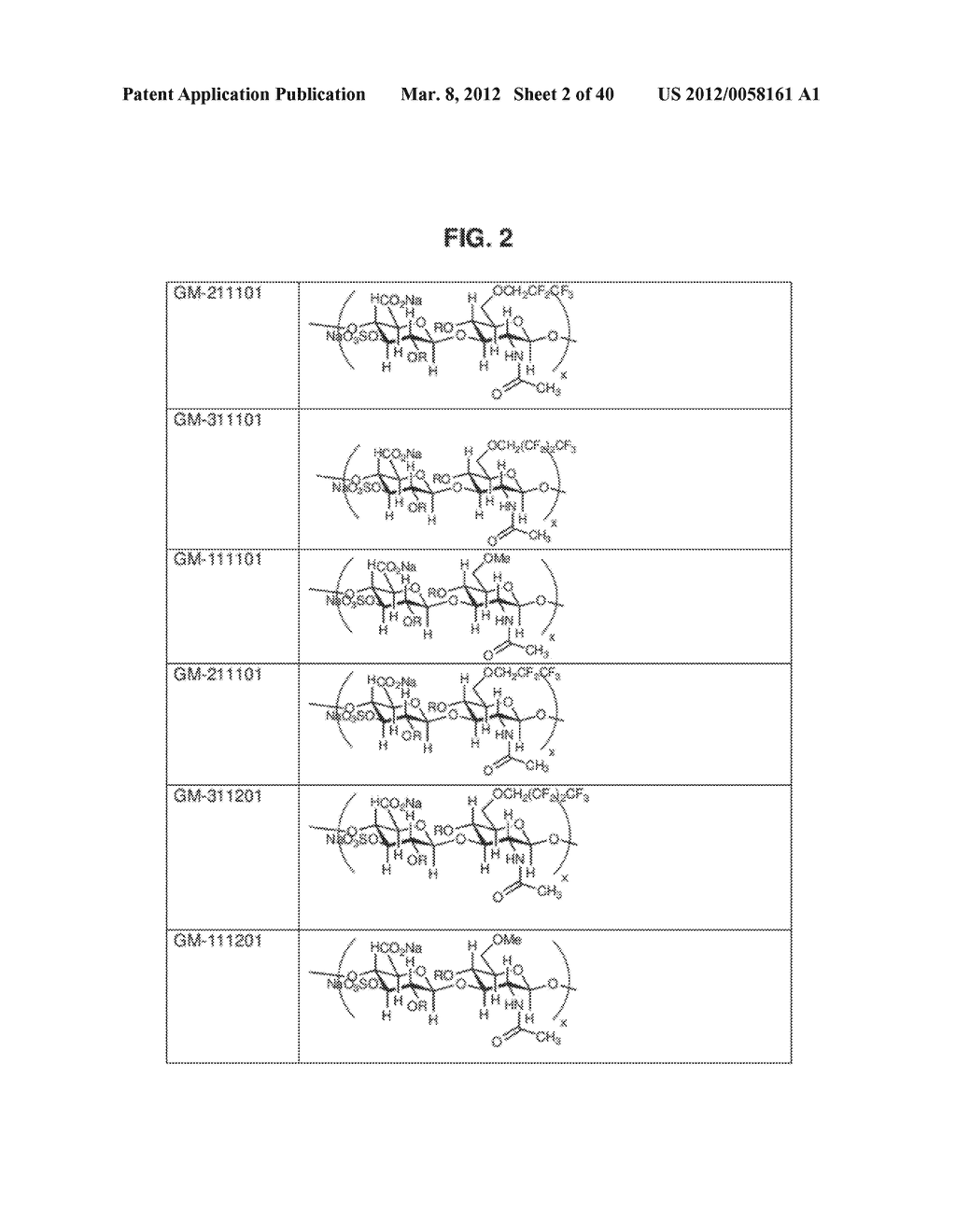ALKYLATED SEMI SYNTHETIC GLYCOSAMINOGLYCOSAN ETHERS, AND METHODS FOR     MAKING AND USING THEREOF - diagram, schematic, and image 03