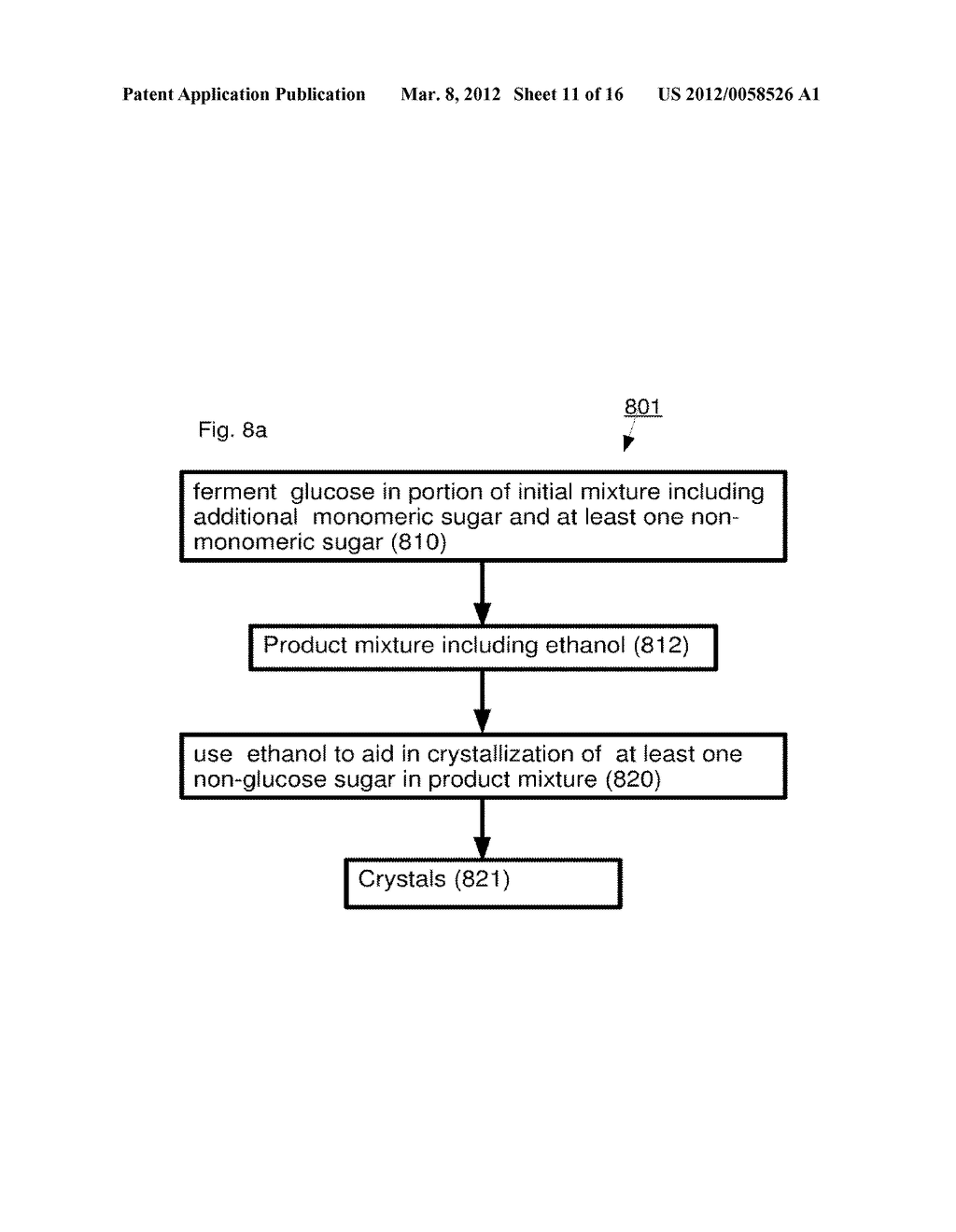 Methods and Systems for Processing Sugar Mixtures and Resultant     Compositions - diagram, schematic, and image 12