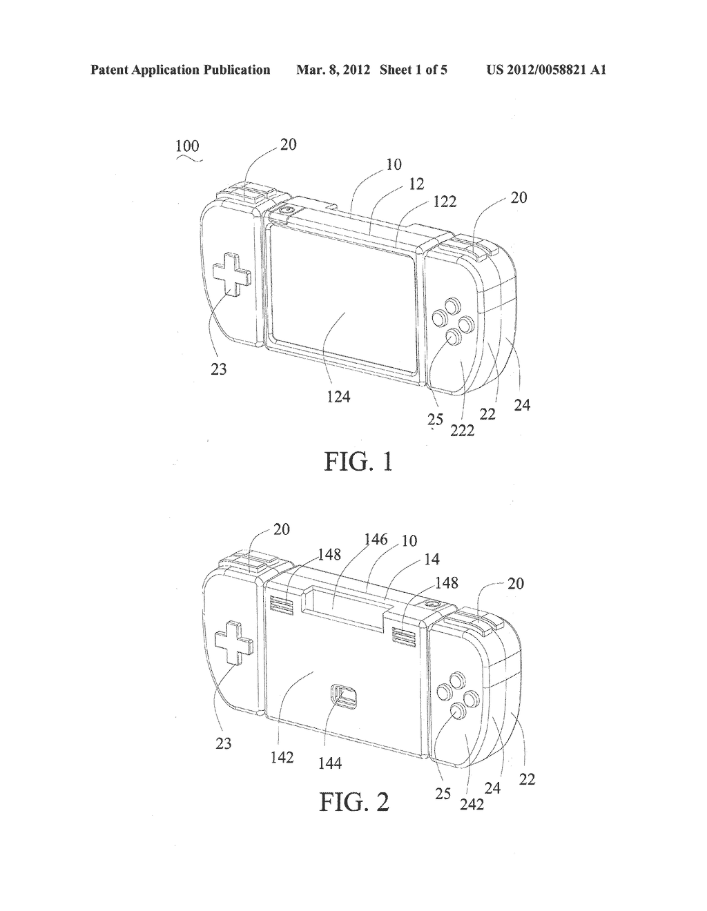 PROJECTING HANDHELD GAME CONSOLE AND OPERATING METHOD THEREOF - diagram, schematic, and image 02