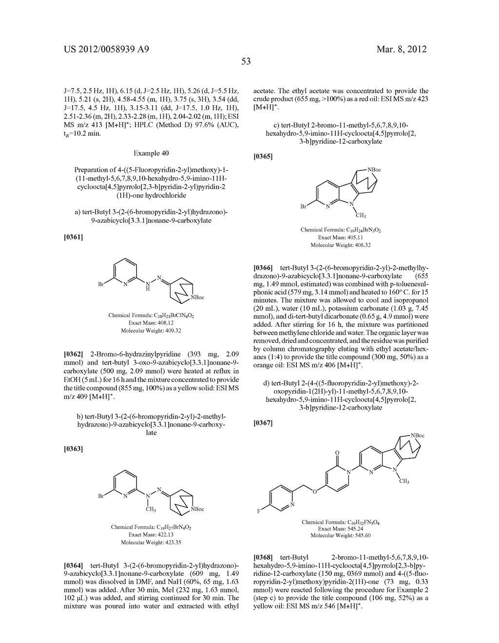 AZABICYCLOALKANE-INDOLE AND AZABICYCLOALKANE-PYRROLO-PYRIDINE MCH-1     ANTAGONISTS, METHODS OF MAKING, AND USE THEREOF - diagram, schematic, and image 54