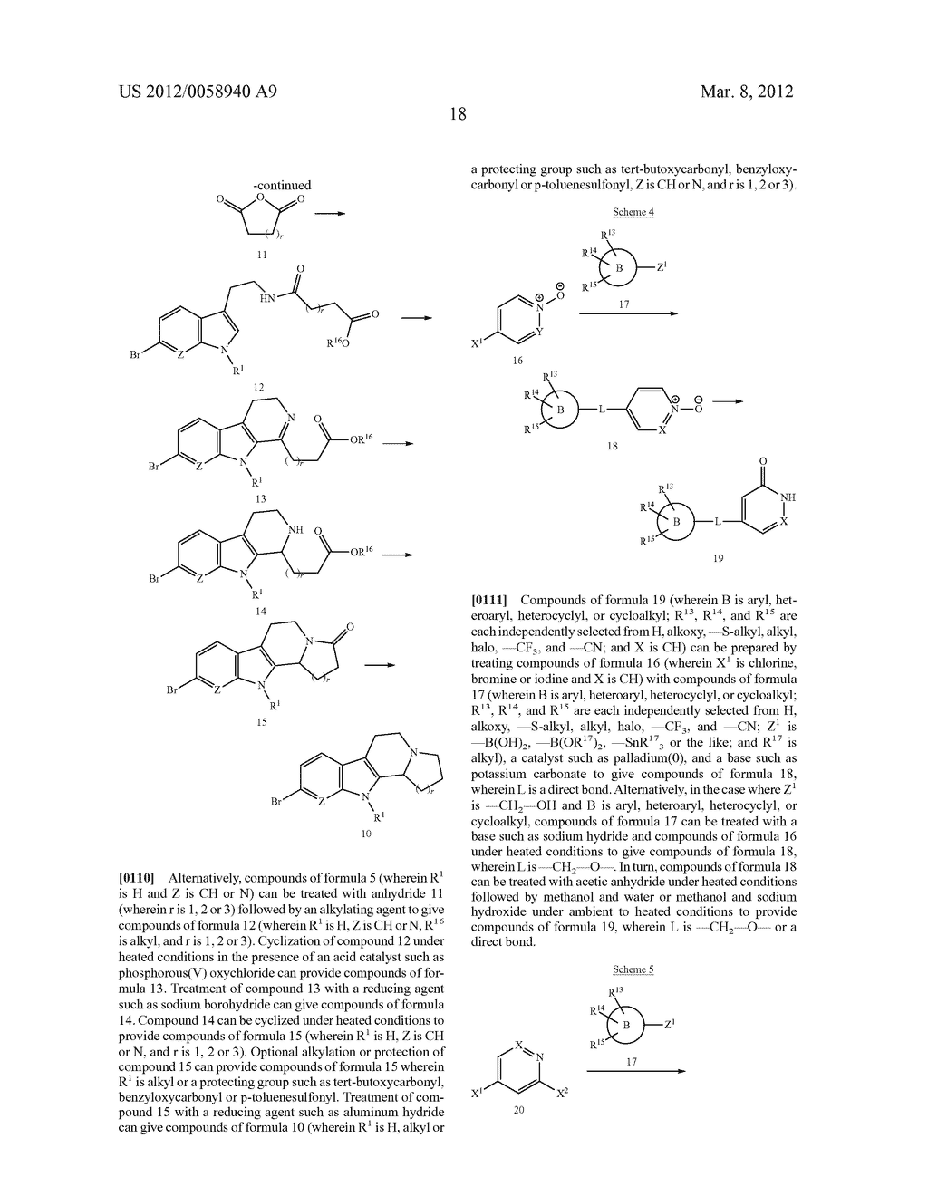AZINONE-SUBSTITUTED AZAPOLYCYCLE MCH-1 ANTAGONISTS, METHODS OF MAKING, AND     USE THEREOF - diagram, schematic, and image 19