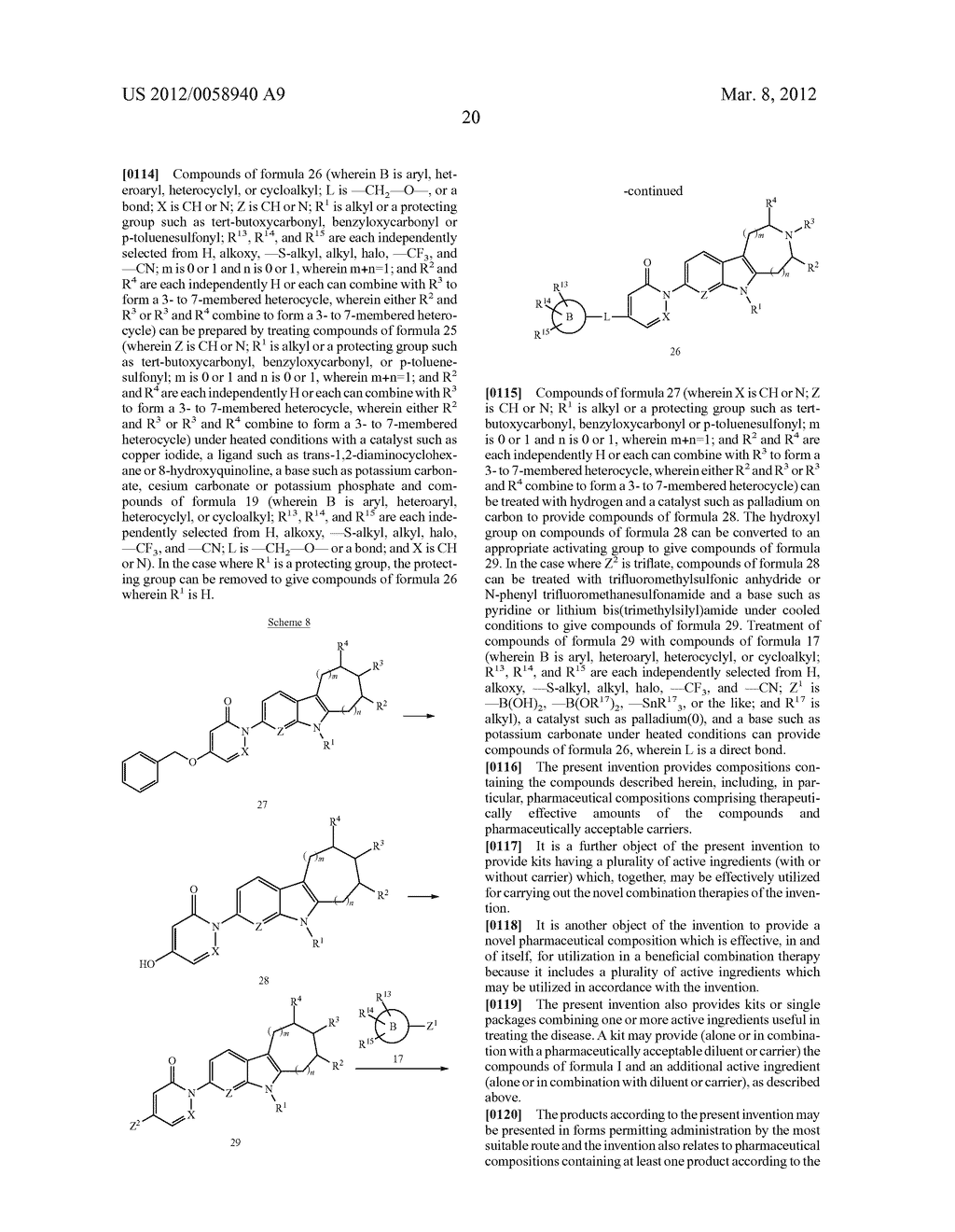 AZINONE-SUBSTITUTED AZAPOLYCYCLE MCH-1 ANTAGONISTS, METHODS OF MAKING, AND     USE THEREOF - diagram, schematic, and image 21