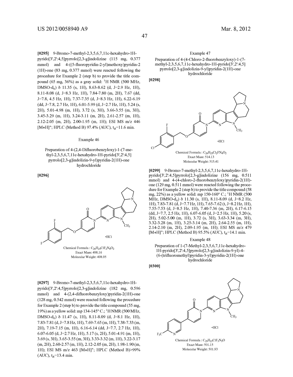 AZINONE-SUBSTITUTED AZAPOLYCYCLE MCH-1 ANTAGONISTS, METHODS OF MAKING, AND     USE THEREOF - diagram, schematic, and image 48